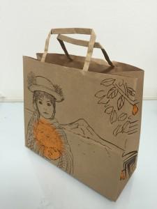輪転式紙袋
