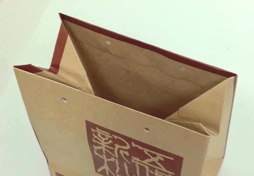 【紙袋】マチ広げの方法