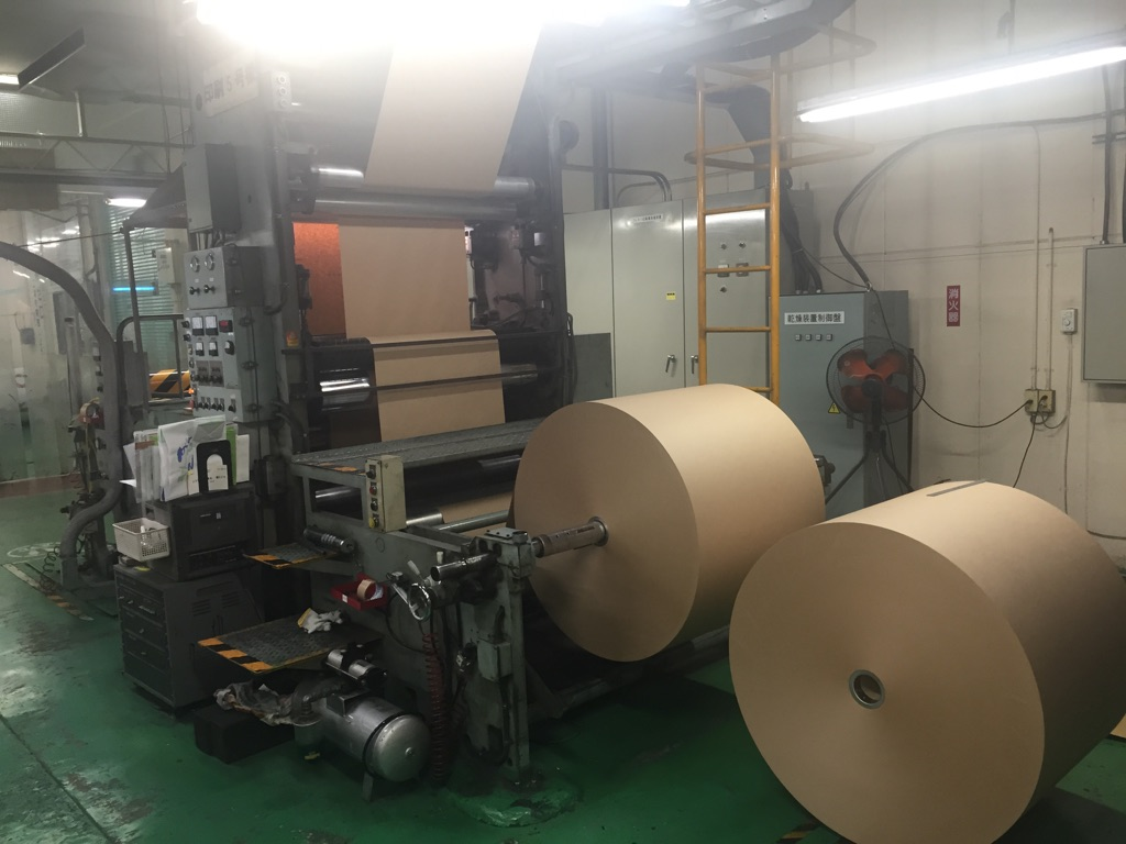 オリジナル紙袋、手提げ袋の印刷方法について—2.フレキソ印刷