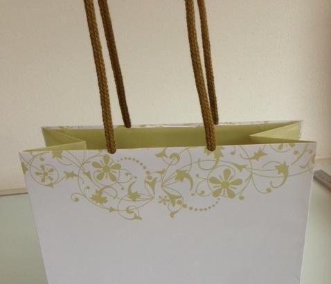 オリジナル紙袋<ターントップ持ち手>について