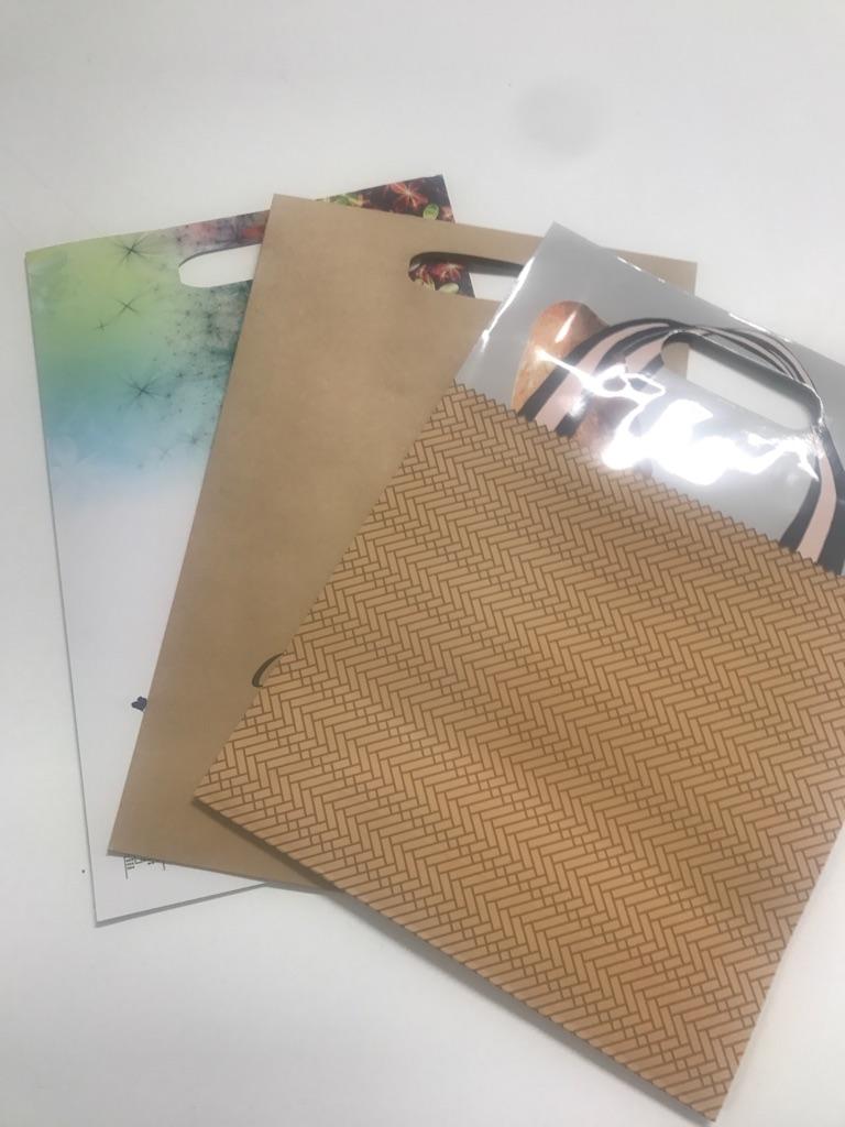 オリジナル 紙袋 【持ち手小判抜きバッグ】