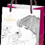 GODIVAのスペシャルショッパーが可愛すぎる。。。